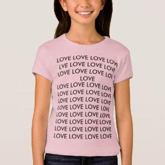 T-shirt L'amour EST la RÉPONSE