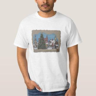 T-shirt Lamplighter de village de Noël