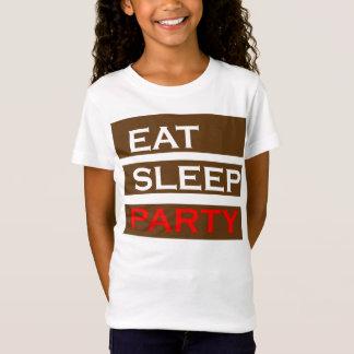 T-Shirt L'amusement drôle de sagesse des textes de PARTIE