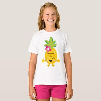 T-shirt L'ananas heureux Homeschool est frais