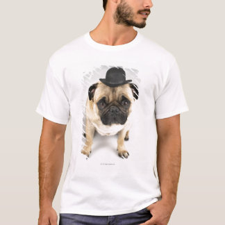 T-shirt Lanceur de port de bouledogue français, tir de