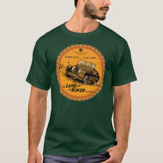 T-shirt Land Rover dur