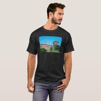 T-shirt Landm d'architecture de l'Italie Milan de tour de