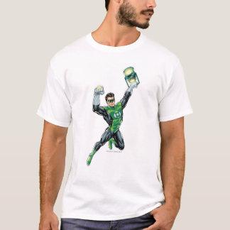 T-shirt Lanterne verte - comique, avec la lanterne