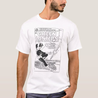 T-shirt Lanterne verte - missile d'emballement, noir et