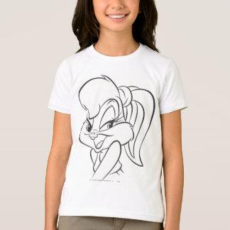 T-shirt Lapin 2 expressifs de Lola