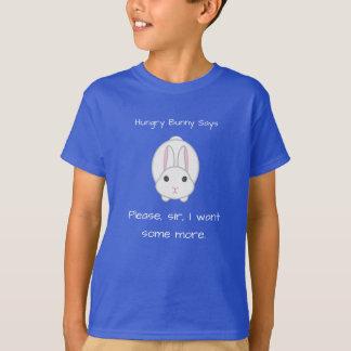 T-shirt Lapin affamé
