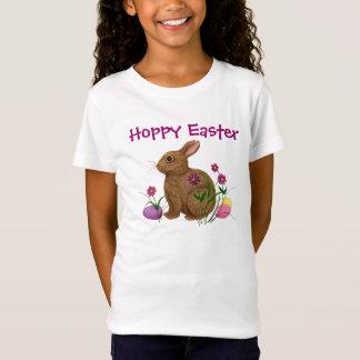 T-Shirt Lapin de houblon de Pâques Pâques - pièce en t