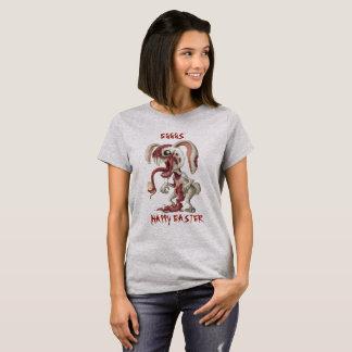 T-shirt Lapin de Pâques putréfié de queue de Peter