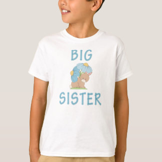 T-shirt Lapin mignon 5 de grande soeur