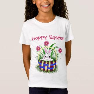 T-Shirt Lapin - pièce en t de panier de Pâques
