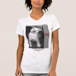 T-shirt L'appui stérilisent le neutre