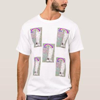 T-shirt l'arc-en-ciel bong