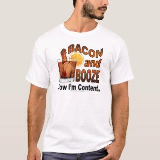 T-shirt LARD et BOISSONS ALCOOLISÉES ! Maintenant je suis