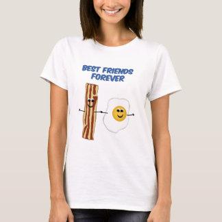 T-shirt Lard et oeufs BFF