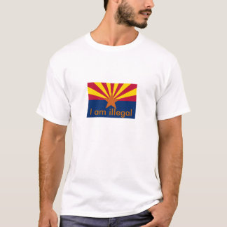 T-shirt L'Arizona, je suis illégal
