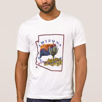 T-shirt L'Arizona soutenu et multiplié