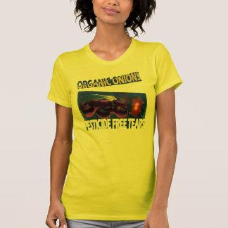 T-shirt Larmes sans pesticides, oignons organiques