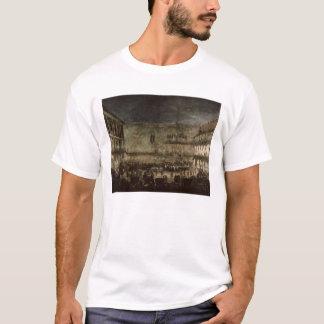T-shirt L'arrivée de princesse Amelia de la Saxe, dans une