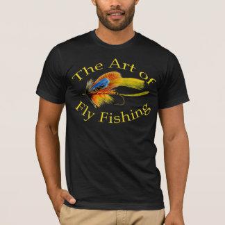 T-shirt L'art de la pêche de mouche