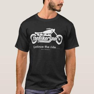 T-shirt L'asphalte à deux voies n'est pas une route -