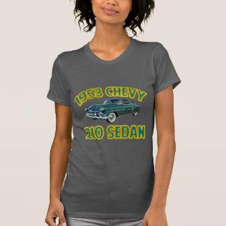 T-shirt L'asphalte des femmes Chevy 1953 210