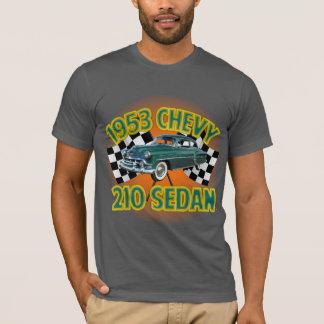 T-shirt L'asphalte des hommes Chevy 1953 210