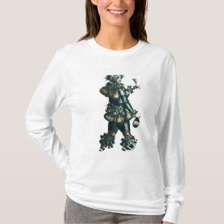 T-shirt L'aubergiste, conception allégorique de costume