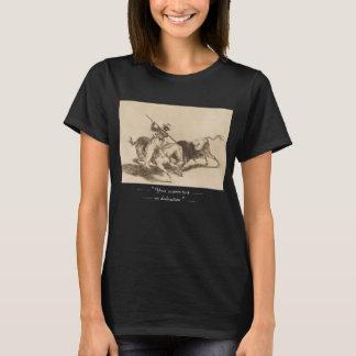 T-shirt L'audace amarrent Gazul était la première pour