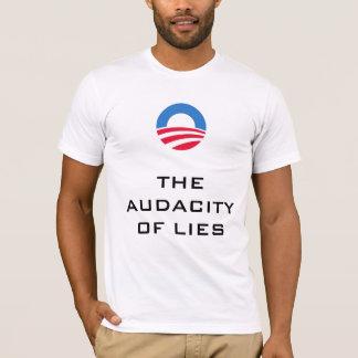T-shirt L'audace des mensonges