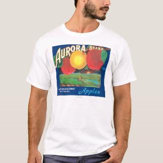 T-shirt L'aurore Apple marquent (bleu) - Dayton, WA