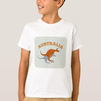 T-shirt L'Australie, kangourou sautant