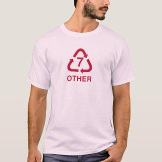 T-shirt l'autre framboise de réutilisation