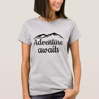 T-shirt L'aventure attend