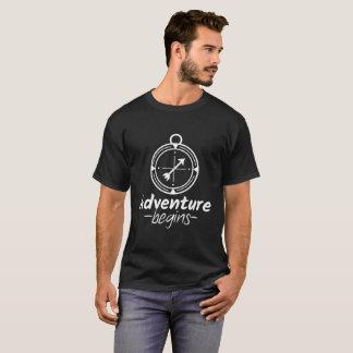 T-shirt L'aventure commence