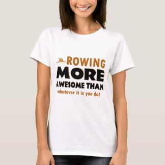T-shirt L'aviron folâtre des conceptions