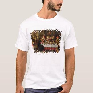 T-shirt Lazarre et le Tableau d'homme riche
