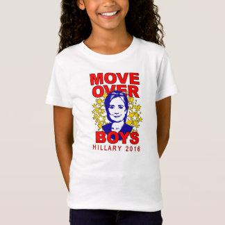 T-Shirt Le Babydoll de la fille au-dessus de garçons de