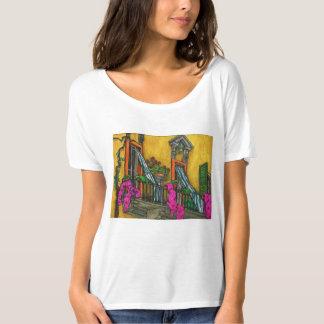 T-shirt Le balcon italien quintessenciel