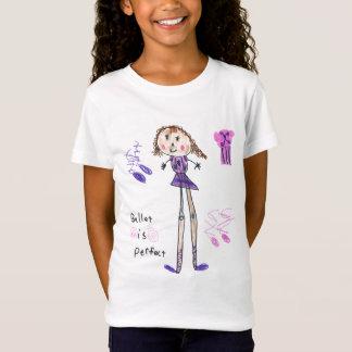 T-Shirt Le ballet est chemise parfaite de filles