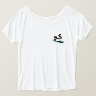 T-shirt Le ballet Pointe chausse la chemise Slouchy