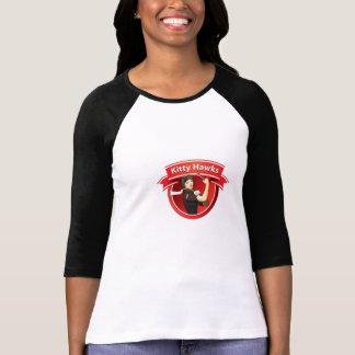 T-shirt Le base-ball Jersey de faucons de Kitty