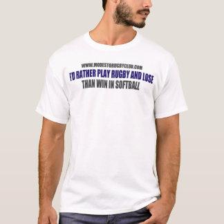 T-shirt Le base-ball suce