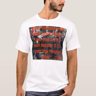 T-shirt Le BÂTON Mikhail Bakunin de PEUPLES