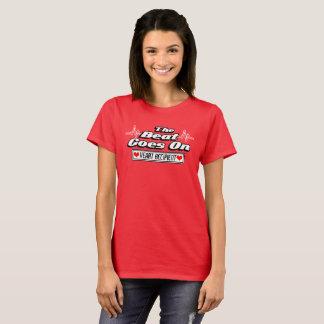 T-shirt Le battement continue - destinataire de