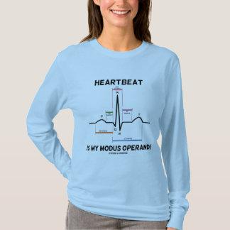 T-shirt Le battement de coeur est mon mode de