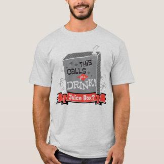 T-shirt Le bébé de patron | que ceci réclame une boisson !