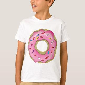T-shirt Le beignet délicieux avec le glaçage et arrose