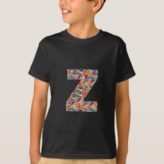 T-shirt le BIJOU d'ALPHABET yyy de l'uuu vvv WWW de zzz