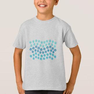 T-shirt Le bleu ondule K